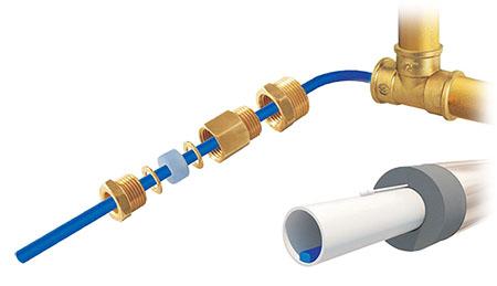 Нагревательный кабель, монтаж